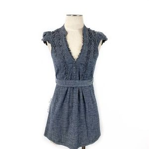 Anthropologie- fei Femme Diversion Chambray Tunic